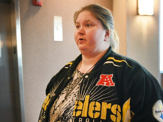 Cynthia Mathis talks about how she feels Wednesday,