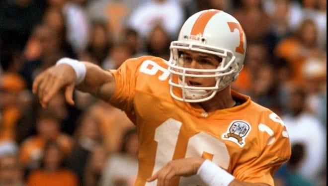 Peyton Manning vs. Kentucky in 1996.