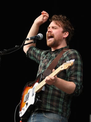 Scott Hutchison, frontman for the band Frightened Rabbit,