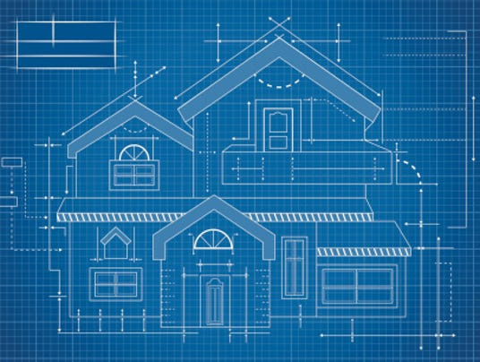 Wooden house Blueprint (Photo: Kapreski Getty Images/iStockphoto)