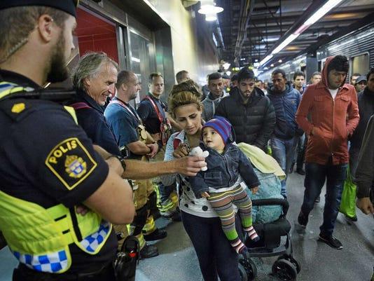 Syrian Refugee Crisis in Sweden