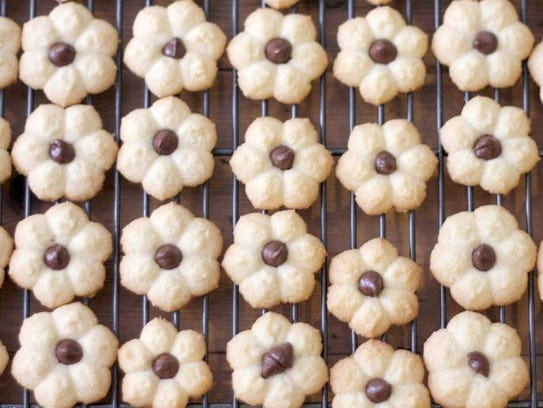 Sheri Silver shared a holiday cookie recipe first taught