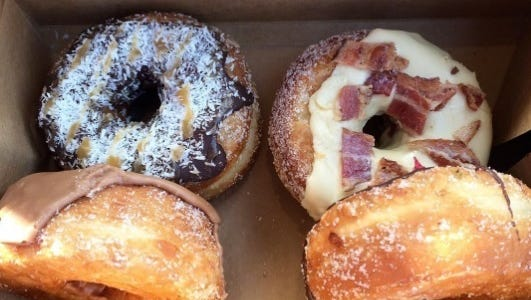 """Lizzy Alfs / The Tennessean Five Daughters Bakery has an online ?DonutCam? so customers can check inventory levels. Five Daughters Bakery has an online """"DonutCam"""" so customers can check inventory levels,"""