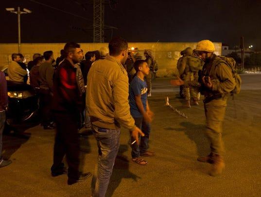 israel palestine shooting