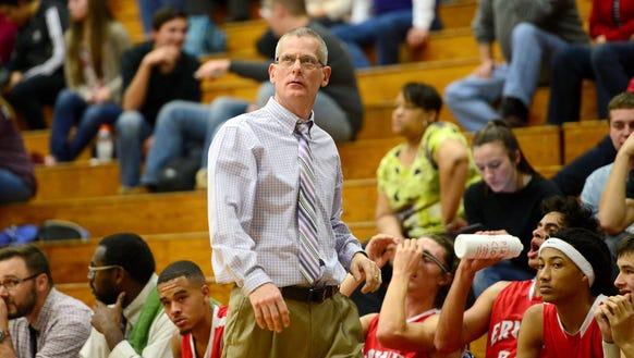 Erwin boys basketball coach David Rhoney has resigned.