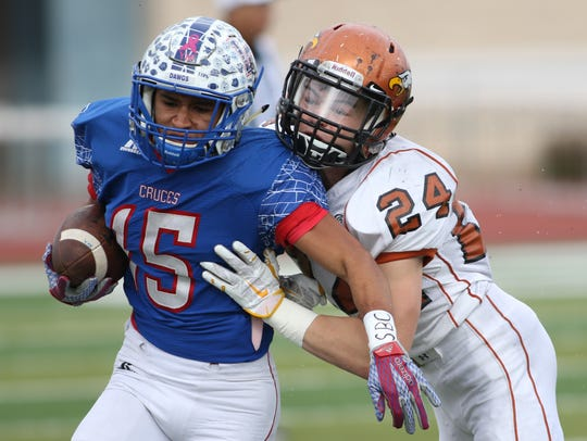 Las Cruces High's Brandon Baeza will be back in 2016.