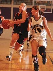 Marshall's Kari (Searles) Jolink was an All-State basketball