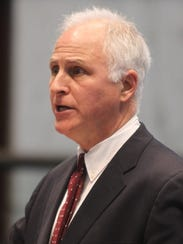 File photo:  David Sciarra, executive director of the