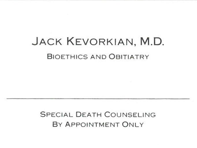 an argument in favor of assisted suicide by dr kevorkian Former michigan pathologist dr jack kevorkian claimed to have assisted in the suicides of more than more about jack kevorkian and assisted suicide.