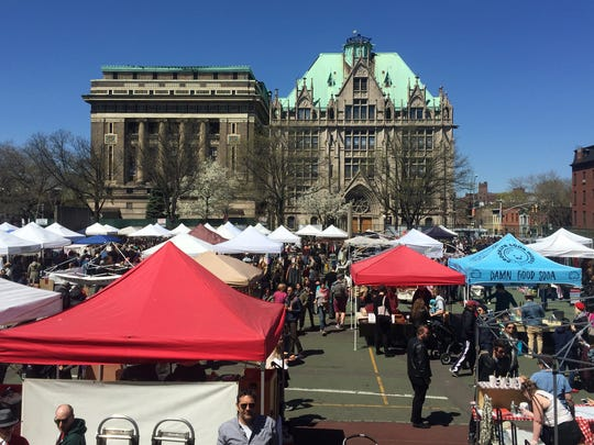 The Urban Flea will bring the unique shopping experience of great outdoor markets such as the Rose Bowl Flea Market, Brooklyn Flea (pictured) and the World-Famous Marché aux Puces de Paris to Indy's Mass Ave. District.