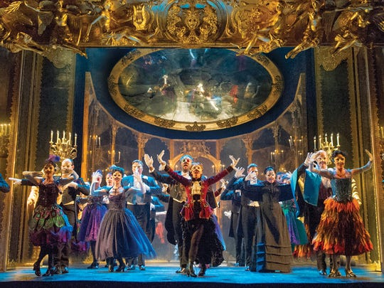 """The company performs """"Masquerade"""" during the national touring production of """"The Phantom of the Opera,"""" coming to ASU Gammage May 27, 2015."""