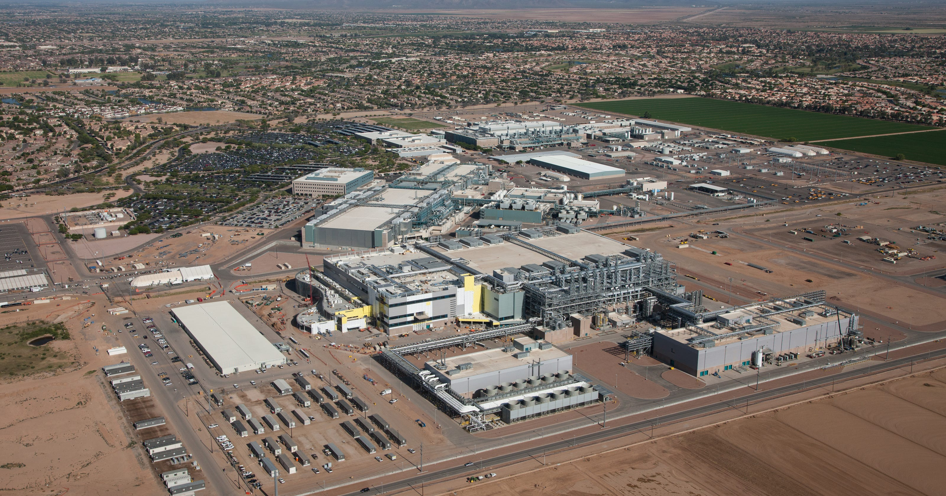 Intel says it's investing $7B in Chandler facility, bringing