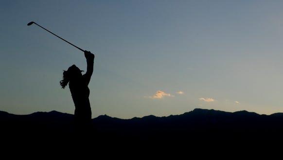 The LPGA event near Atlantic City is having social
