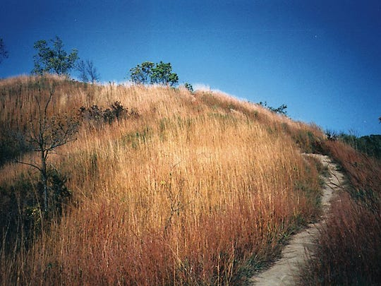 The Loess Hills, featuring prairie grasslands and unusual