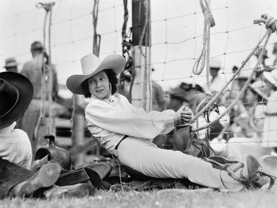 Alice Greenough, rodeo rider.
