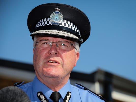 EPA AUSTRALIA CRIME MURDER CLJ CRIME AUS WE
