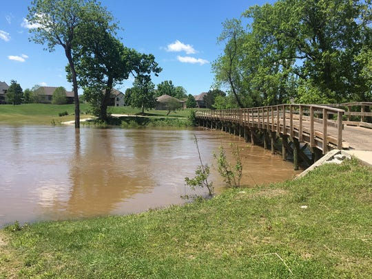 Rivercut Golf Course has been hit with four floods