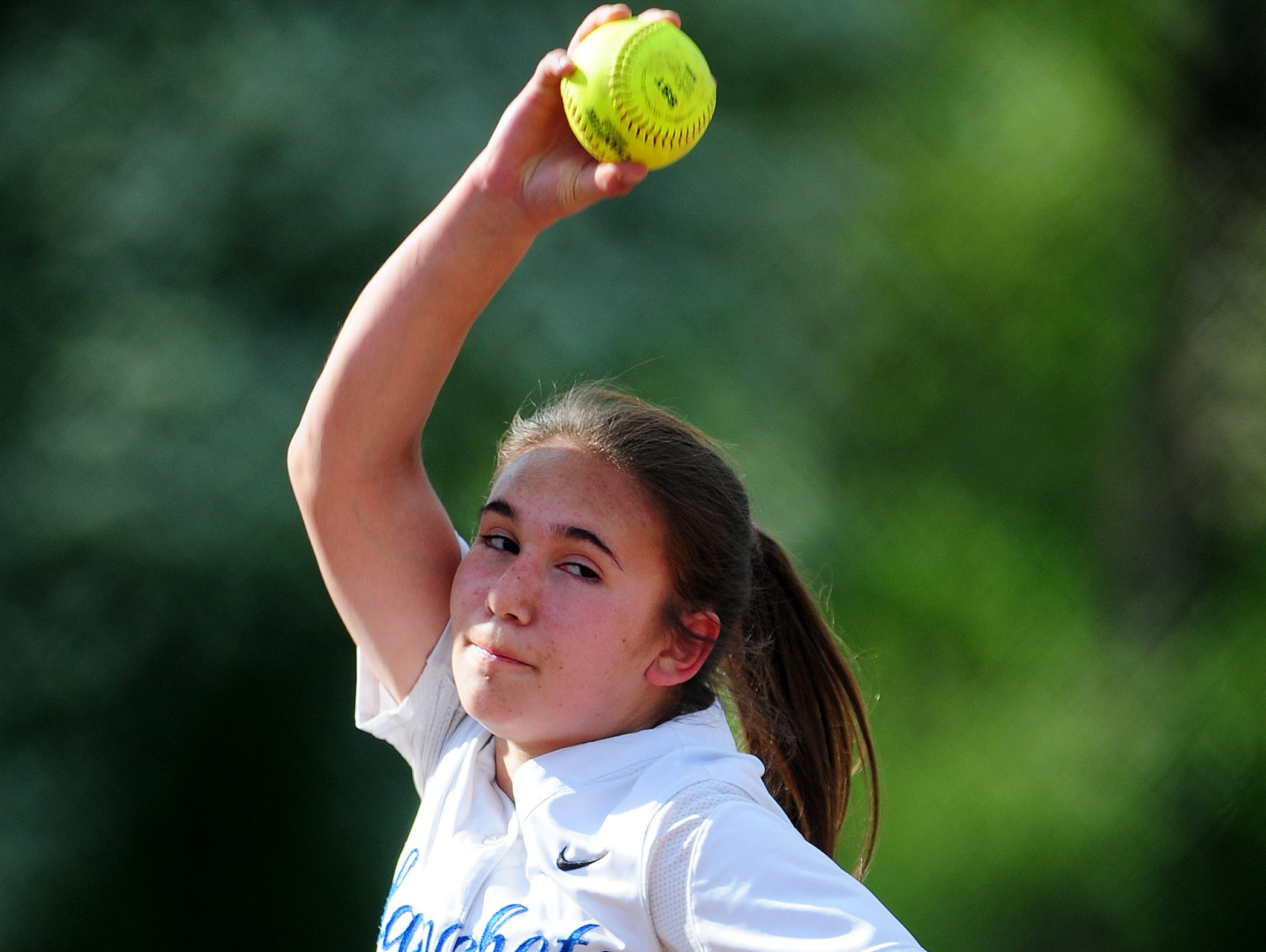 Blanchet pitcher Heather Arp has been a starter since she was a freshman.
