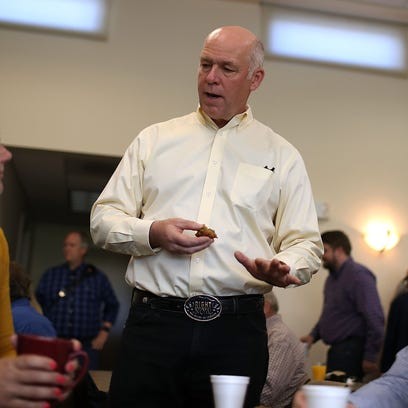 Republican congressional candidate Greg Gianforte is