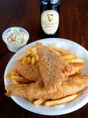 The Fish House's scrod dinner