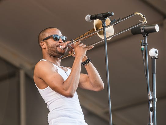 "Troy ""Trombone Shorty"" Andrews will bring his band"