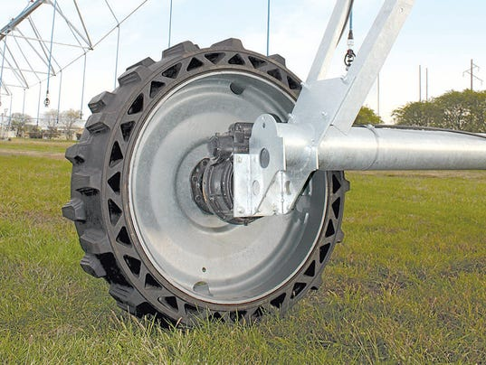Valley airless tire