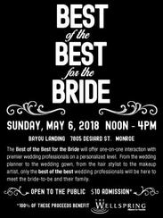 Best of the Best for the Bride is Sunday.