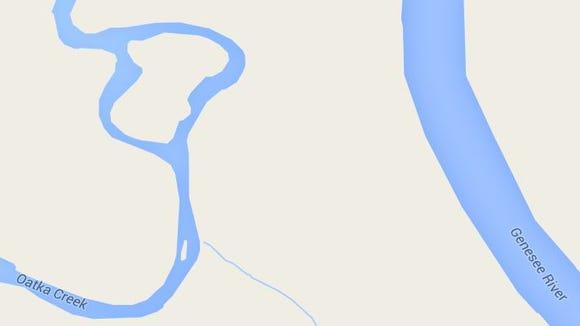 Oatka Creek and Genesee River