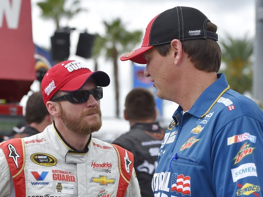 Former crew chief Steve Letarte, right, says it will