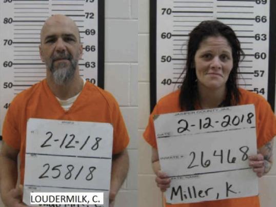 Jasper County arrests