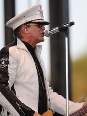 Cheap Trick performs at RAGBRAI in Coralville on Friday, July 24, 2015.