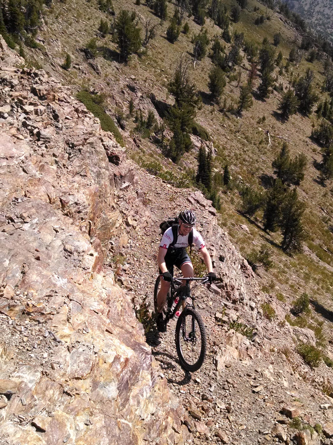 Mountain biking on the Elkhorn Crest Trail is becoming