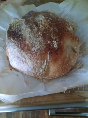 The Dutch oven bread caused a stir on social media.