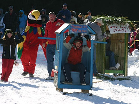 Sapphire Valley Ski Resort will host the Outhouse Race at the ski area on Feb. 13 to raise money for a local food bank.