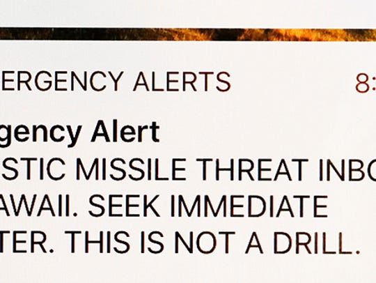An erroneous notification regarding an incoming ballistic missile attack from Hawaii's emergency alert system caused widespread panic in the Aloha State on Jan. 13.