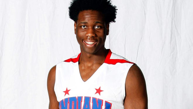 Caleb Swanigan, Homestead High School is the 2015 Indianapolis Star Mr. Basketball.