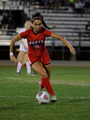 Amanda DaSilva and the North Fort Myers girls soccer team host Plantation American Heritage in a Region 3A-4 final on Tuesday.