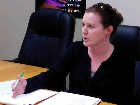 Finance Director Tressa Miller