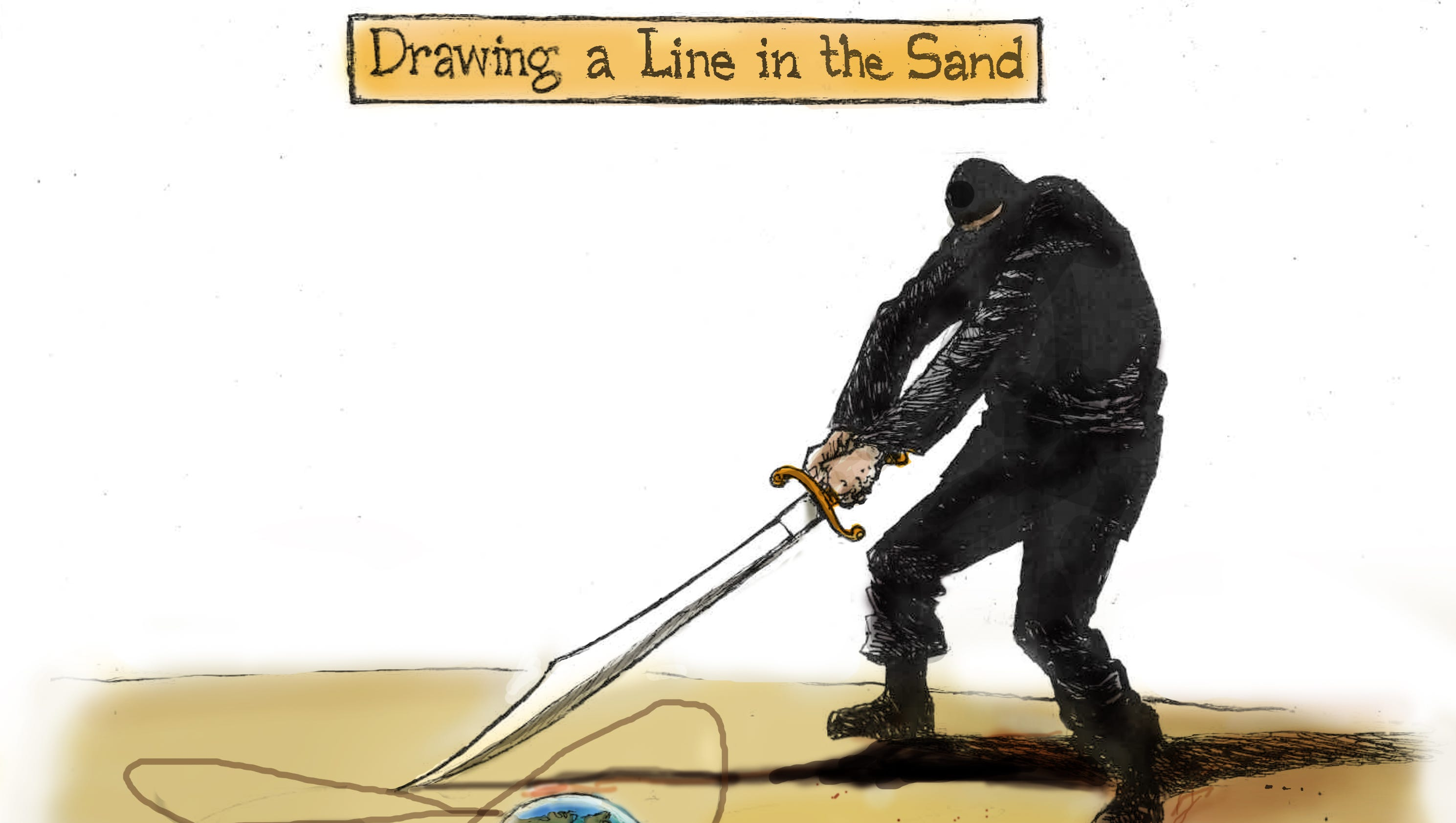 Drawing Lines In R : Today s toon isis could go nuclear