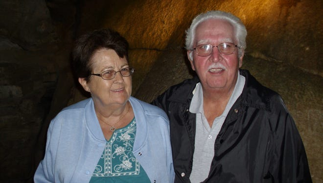 Linda and Richard Harris of Erin would have shared 45 years of marriage next month. Linda died Sept. 2. She was 73.