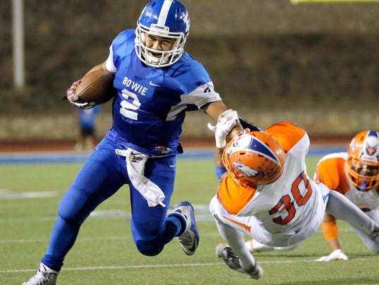 El Paso HS football: Bowie vs. Canutillo