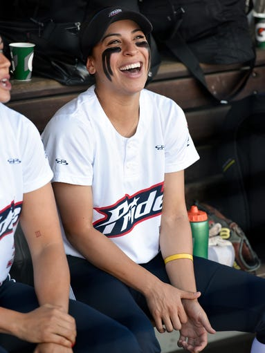 Former Michigan softball star and current USSSA Pride