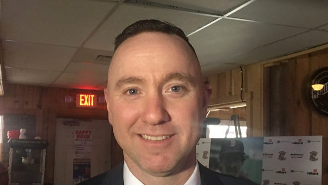 Matt Burch has been named manager of the Elmira Pioneers for a third time.