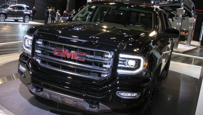 2016 GMC Sierra 1500 All-Terrain Pickup truck