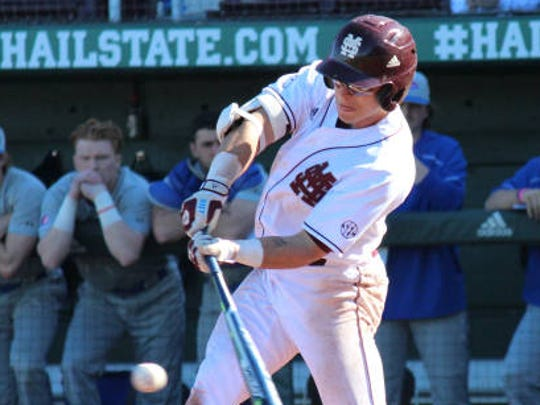 Jacob Robson with Mississippi State.