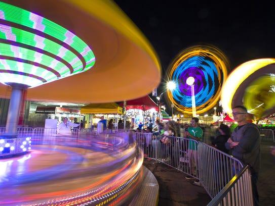 The Arizona State Fair runs Oct. 7-30 in Phoenix.