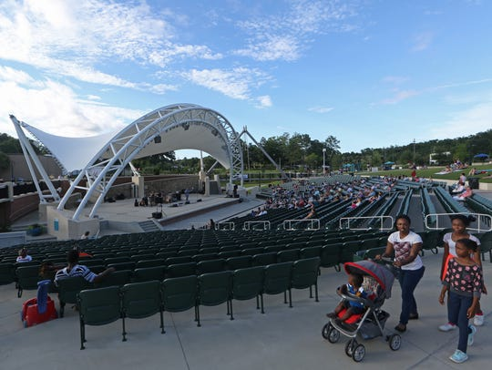 Capital City Amphitheater, which seats 3,500 in Cascades