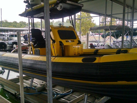 Sea Tow rigid-hulled inflatable boat