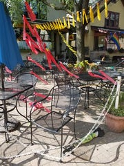 The damage to the Aut Bar was relatively minor, but the community has responded with thousands of dollars in pledged donations.