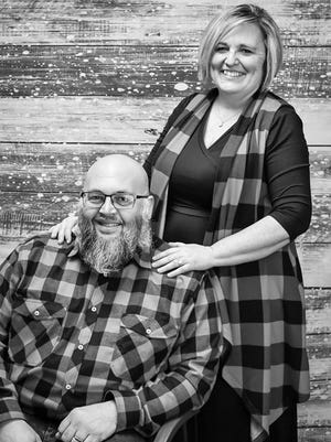 Melody Hedden and her husband Joe